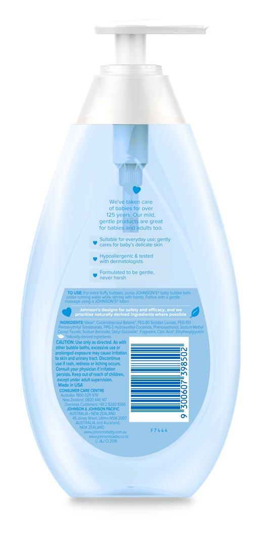 Bubble Bath | Baby Products | JOHNSON'S® baby Australia