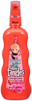 JOHNSON'S®KIDS® NO MORE TANGLES® detangling spray STRAWBERRY SENSATION™