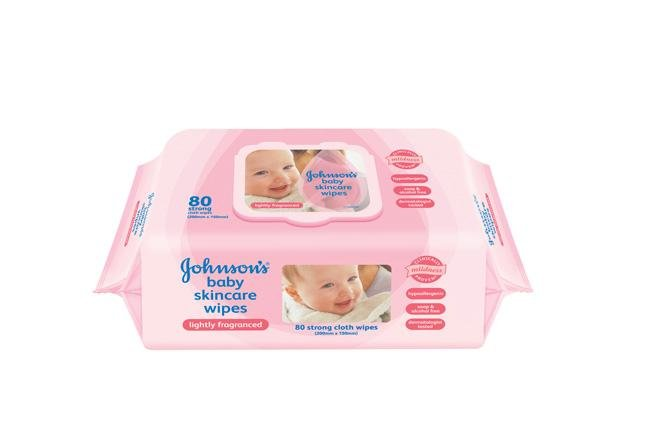 JOHNSON'S® baby Skincare Wipes (Lightly Fragranced)